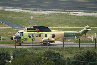Eurocopter EC225 Super Puma - Partially-assembled EC225 at Marseille, France, 2007