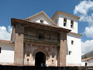 Andean Baroque Route - Saint Peter the Apostle Church