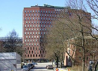 Svenska Dagbladet - Anders Tengbom, building for Svenska Dagbladet in Stockholm