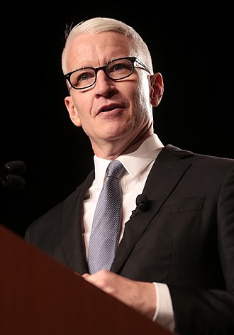 Anderson Cooper 360° - Cooper accepting the 2018 Walter Cronkite Award for Excellence in Journalism