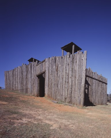 Gate to Stockade