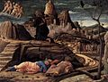 Andrea Mantegna - Agony in the Garden - WGA13946.jpg