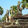 Angkor Wat Terrace of Honour, Siem Reap, Cambodia - panoramio.jpg