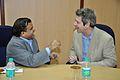 Anil Shrikrishna Manekar with Iain Simpson Stewart - Kolkata 2016-01-25 9286.JPG