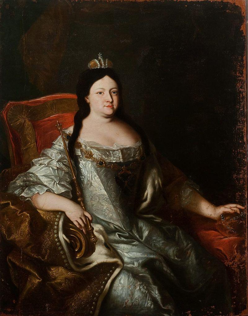 Анна Иоанновна Аноним (1730-е гг., ГИМ).Формат JPG