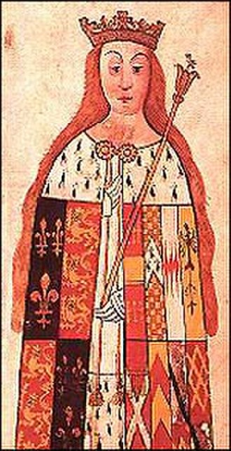 Edward of Westminster, Prince of Wales - Anne Neville, wife of Edward of Westminster and later of Richard III.