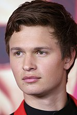 A head-and-shoulder shot of Ansel Elgort at the Baby Driver Sydney premiere