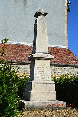Antigny-la-Ville - Antigny-la-Ville War Memorial