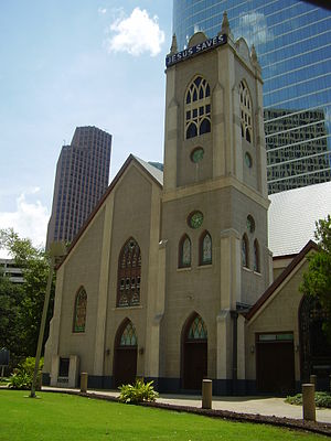 Fourth Ward, Houston - Antioch Missionary Baptist Church, now in Downtown Houston