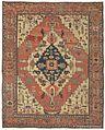 Antique Serapi carpet, Heriz region, Northwest Persia, 9ft 11in x 12ft 10in, circa 1875,.jpg