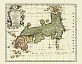 Antique map of Japan, 1752.jpg