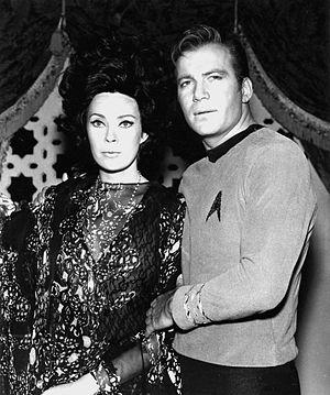 Antoinette Bower William Shatner Star Trek 1967.jpg