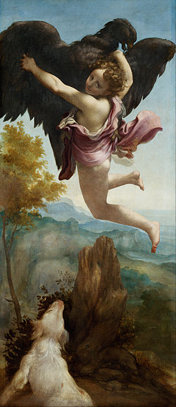 Antonio Allegri, called Correggio - The Abduction of Ganymede - Google Art Project.jpg