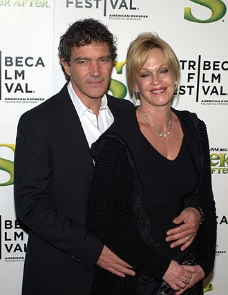 Melanie Griffith - Griffith and husband Antonio Banderas at the 2010 Tribeca Film Festival