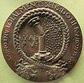 Antonio marescotti, medaglia di galeazzo marescotti, v, colonna rotta in memoria di camilla malvezzi, 1448 ca.JPG