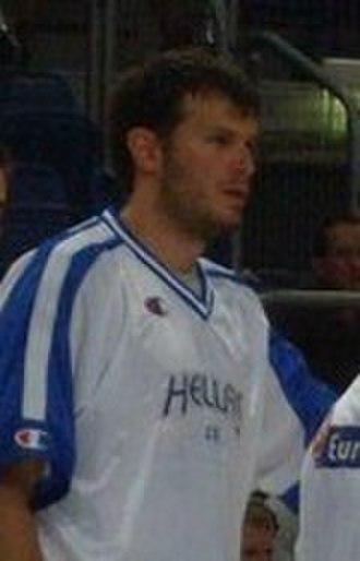 Antonis Fotsis - Fotsis, as a member of the senior Greek national team.
