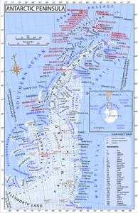 南極半島's relation image