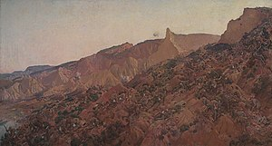 Anzac, the landing 1915 by George Lambert, 192...