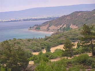 ANZAC Cove - Anzac Cove and surrounding area