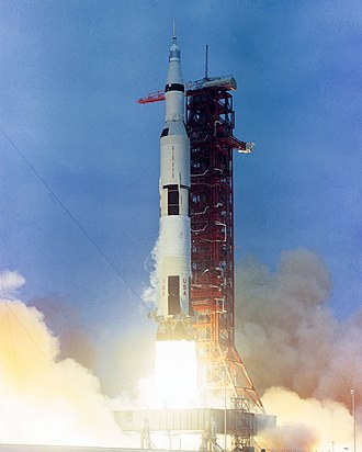 Saturn V - The launch of Apollo 10 on Saturn V AS-505, May 18, 1969