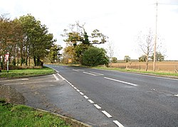 Approaching Thurton on the A146 (Norwich Road) - geograph.org.uk - 1580968.jpg