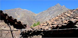 Sarhua District - Image: Apu urqu