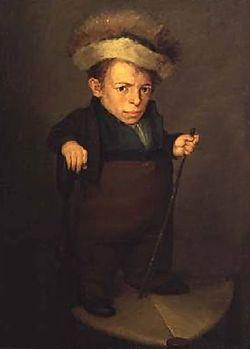 Aragonese dwarf by Lopez-y-Portana