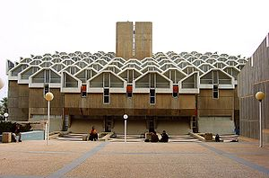 Zalman Aran Library at Ben Gurion University o...