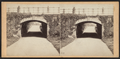 Arch covering the drive over the Walk east of the Mall, by T. C. Roche.png