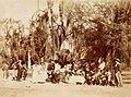 Archivo General de la Nación Argentina 1890 aprox, Pericón. Pepe Podestá y su compañía en una fiesta campestre.jpg