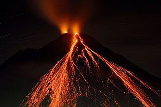 Arenal Volcano - Arenal in November 2006