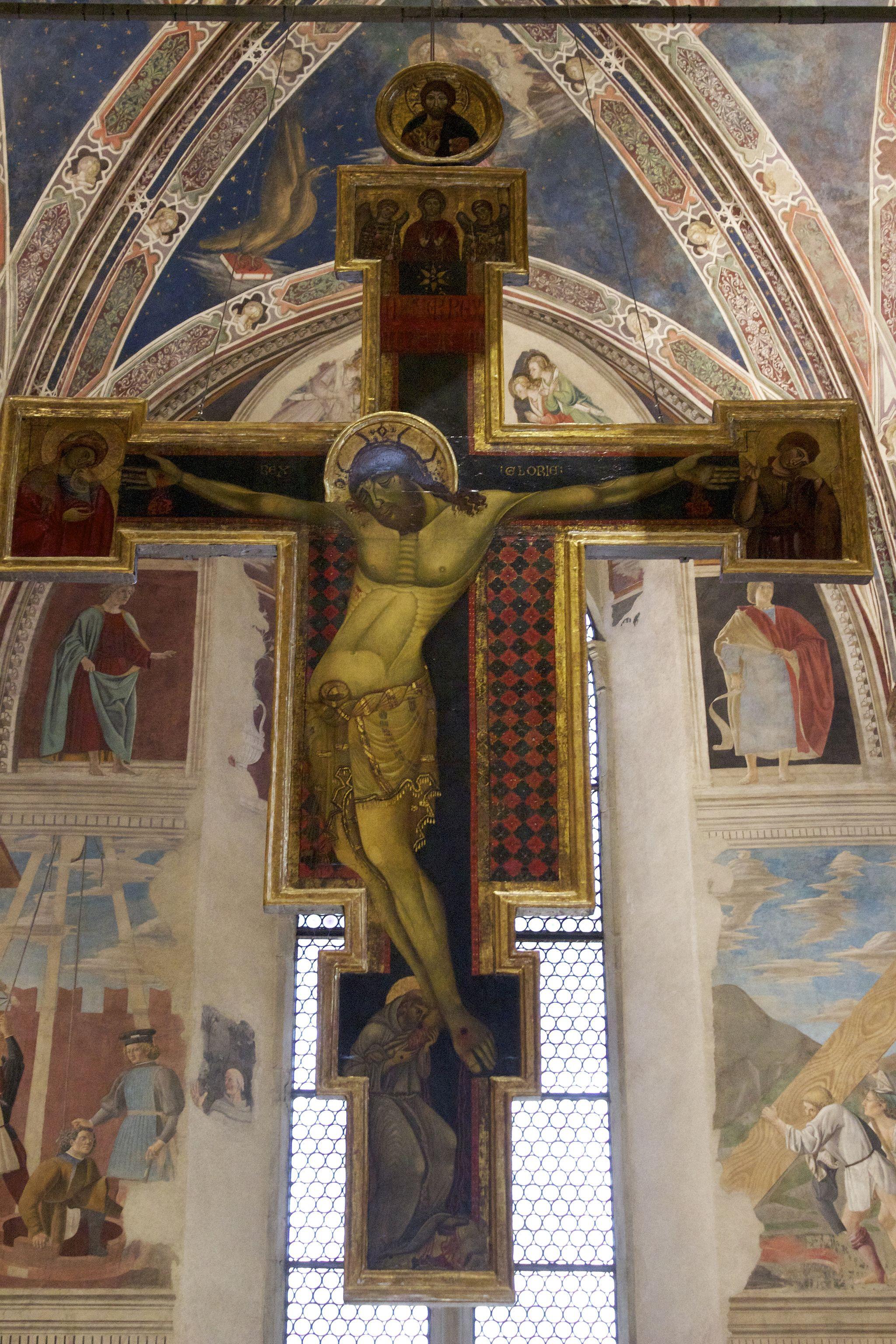 Arezzo Crucifijo San Francesco