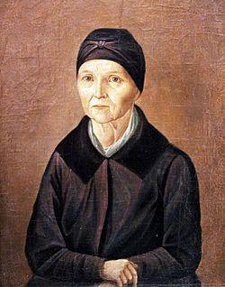 Портрет работы неизвестного художника