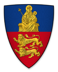 Arms displayed by Hugh de Wells, Bishop of Lincoln, at the signing of Magna Charta.png