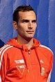 Aron Szilagyi podium 2013 Fencing WCH SMS-IN t205519.jpg