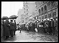 "Arrival of ""Waratahs"", Mr Holman under umbrella (18431548508).jpg"