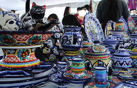 Crafts of Puebla, Mexico Artesanias de Puebla, Mexico.JPG