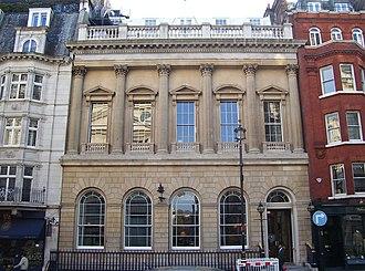 Carlton Club - The Carlton building since 1940, formerly Arthur's club