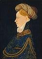 Artista franco-fiammingo, ritratto di gentildonna, 1410-15.jpg