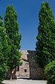 Aschaffenburg, Stadtmauer an der Kirchenruine zum Heiligen Grabe-001.jpg