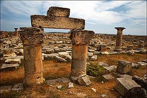 Jabal al Akhdar - Asclepium Balagrae