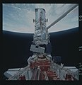 Astronauts Thornton and Akers during Installation of COSTAR into Hubble Space Telescope (28051096071).jpg