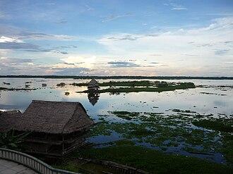 Itaya River - Image: Atardecer