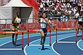 Athletics at the 2018 Summer Youth Olympics – Girls' 400 metre hurdles - Stage 2 19.jpg