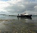 Atlantis, the glass bottomed boat at the Skye Bridge - geograph.org.uk - 1442925.jpg