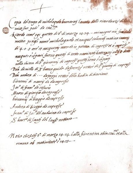 File:Atto di nascita Michelangelo.djvu