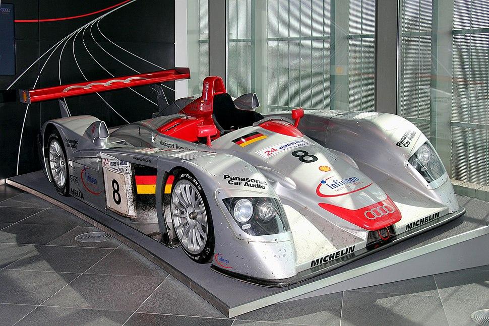 Audi R8 LMP, Le Mans 2000 (museum mobile 2013-09-03)