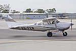 Ausjet Aviation Group (VH-FEN) Cessna 206H Stationair taxiing at Wagga Wagga Airport.jpg