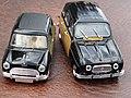 Austin Mini Cooper S Radford & Renault R4 Parisienne (13887967267).jpg