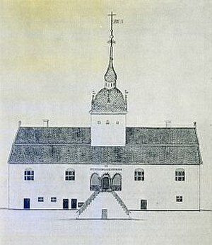 Austrått - Design by Gerhard Schøning, ca 1774